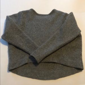 Helmut Lang Wool Cropped Sweater